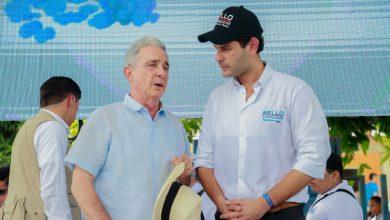 """Photo of """"El Mello"""" recibió respaldo del senador Uribe para las elecciones del 27 de octubre"""""""