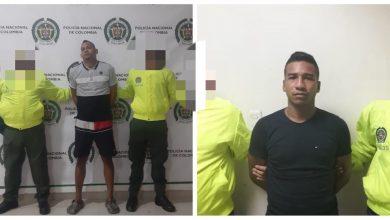 Photo of Cayeron en manos de la Policía alias 'Tigre' y 'Niñito'
