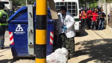 Photo of Hallan feto al interior de un contenedor en la Avenida del Ferrocarril