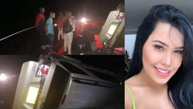 Photo of Se accidentó Ana del Castillo en Palmar de Varela