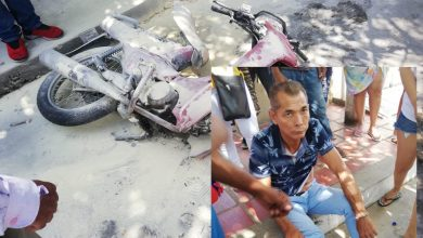 Photo of Guaya de alta tensión se desprendió y casi mata a un motociclista en Santa Marta