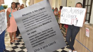 Photo of Amenazan de muerte a mujeres que protestaron contra el presidente de la Asamblea departamental