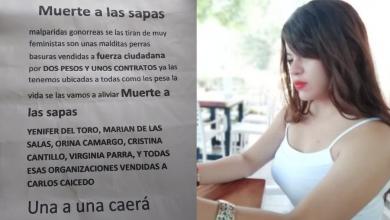 Photo of Activista amenazada pide celeridad en investigación para determinar autoría del panfleto.