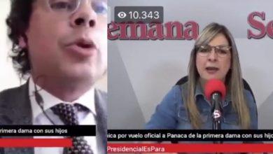 """Photo of """"Usted es un inepto, un patán y un lagarto"""", Vicky a Hassan en pleno Facebook Live de Semana"""