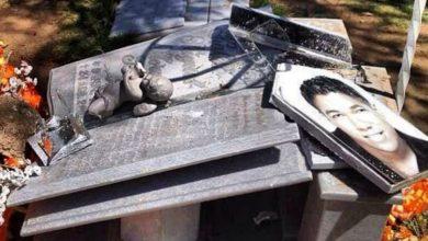 Photo of Destruyen tumba de Kalet Morales en Valledupar