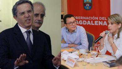 Photo of Uribe cuestiona a Virna y Caicedo por buscar apoyo de Estados Unidos y Cuba
