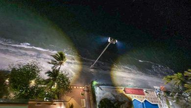 Photo of Playa Salguero tiene nuevas y potentes luminarias