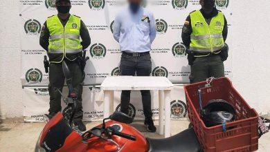 Photo of Cayó domiciliario que trabajaba con una motocicleta robada