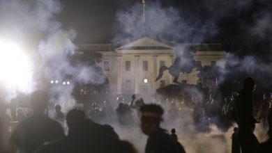 Photo of En medio de las protestas por la muerte de George Floyd la Casa Blanca apaga sus luces