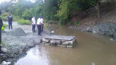 Photo of Destruyen dos puentes artesanales usados para extracción ilegal de arena