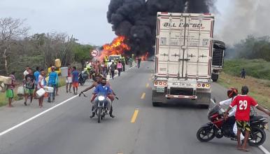 Photo of Confirman el fallecimiento de otro de los heridos de la explosión del camión cisterna en Puebloviejo