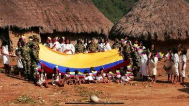Photo of Ejército Nacional y 'Once Más' entregaron ayudas a indígenas de la Sierra Nevada de Santa Marta