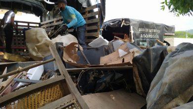 Photo of Realizan recolección de material inservible cerca al río Manzanares