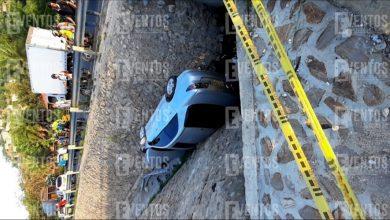 Photo of Aparatoso accidente deja dos personas heridas en la Troncal del Caribe