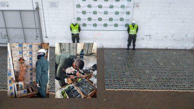 Photo of Caen mil 100 kilo de cocaína en el puerto de Santa Marta