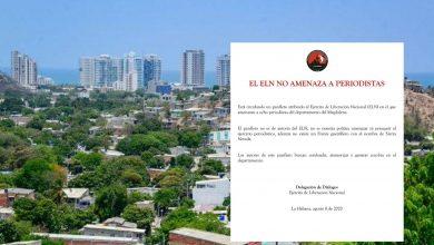 Photo of Eln desmiente que haya amenazado a periodistas de Santa Marta