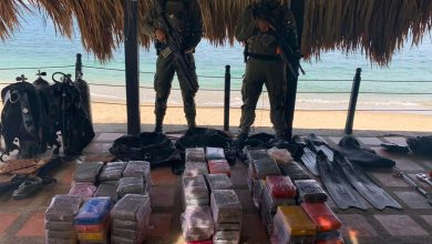 Photo of Cayeron 124 kilos de cocaína en Santa Marta
