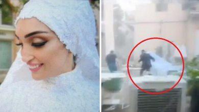Photo of Novia fue sorprendida por explosión en Beirut cuando hacía sesión fotográfica para su boda