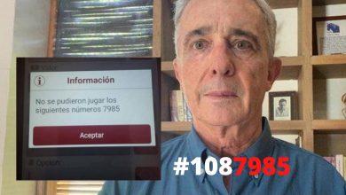Photo of Prohíben sellar el chance con el número de la reseña de Álvaro Uribe