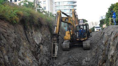 Photo of En 98% se encuentra la obra del colector sur del alcantarillado de Santa Marta