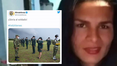 "Photo of ""Gloria al soldado"", el trino de Mindefensa, luego del asesinato de Juliana Giraldo"