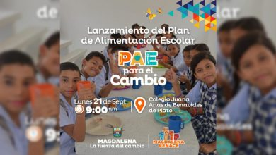 Photo of Gobernador lanzará 'Plan de Alimentación Escolar para el Cambio' en Plato