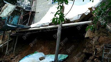 Photo of A punto de perder su casa por las fuertes lluvias