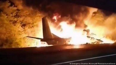 Photo of Al menos 26 personas mueren al estrellarse un avión militar en Ucrania