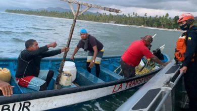 Photo of Armada rescata a dos pescadores que habían naufragado en Cabo San Juan