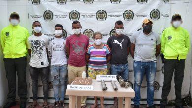 """Photo of Caen seis de """"Los del Rubí"""" dedicados al hurto en Fundación y Aracataca"""