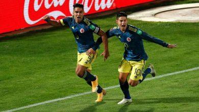Photo of Con gol de Falcao, Colombia logró un valioso empate contra Chile
