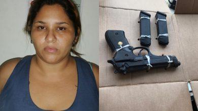 Photo of A la cárcel mujer venezolana que traía armas de fuego a Santa Marta