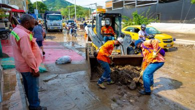 Photo of Puntos críticos afectados por las lluvias fueron atendidos