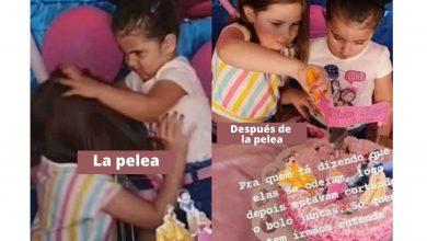 Photo of Niña se hace viral por apagar velas del cumpleaños de su hermana