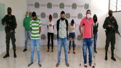 Photo of Judicializados seis presuntos integrantes del Clan del Golfo en Montería