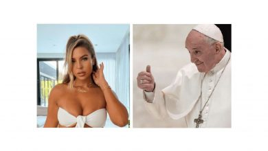 "Photo of Investigan el ""me gusta"" del papa Francisco en Instagram a una modelo"
