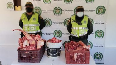 Photo of Decomisan carne no apta para el consumo humano en Salamina