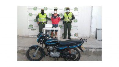 Photo of Julio César robó una motocicleta y cuando intentó escapar la Policía lo capturó!