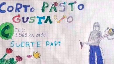 Photo of Padre desempleado consiguió trabajo gracias al dibujo de su hija de 9 años