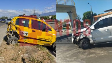 Photo of Por ver paloterapia a un ladrón, taxista causó aparatoso accidente en la Troncal del Caribe