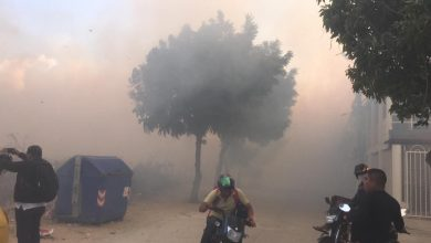 Photo of Humareda por quema de lote baldío afecta a la comunidad del sur de Santa Marta
