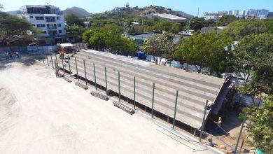 Photo of Así avanza la construcción de la Cancha de Gaira