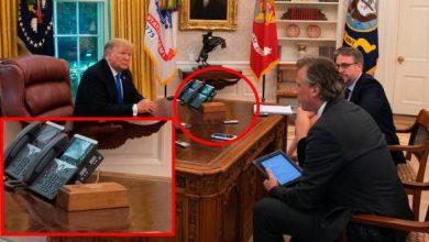 """Photo of Trump tenía un """"botón rojo"""" para pedir Coca Cola: Biden lo eliminó"""