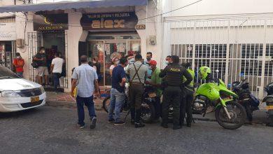 Photo of La delincuencia no da tregua en Santa Marta: Robaron joyería en el Centro Histórico
